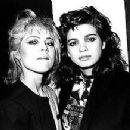 Gia Carangi and Sandy Linter