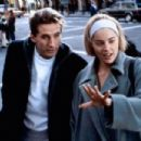 Sharon Stone and William Baldwin in Sliver (1993)