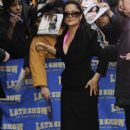 """Salma Hayek - Visits The """"Late Show With David Letterman"""" In New York City, 13.01.2009."""