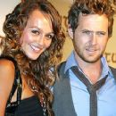 Sharni Vinson and A.J. Buckley