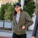 Adrien Brody spotted in Beverly Hills, California on February 14, 2017. Adrien was with a friend having lunch at Ebaldi restaurant - 454 x 578