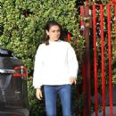 Mila Kunis out running erands in Los Angeles - 454 x 681