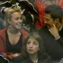 Hayden Panettiere And Milo Vintimiglia - Los Angeles Kings Vs. St. Louis Blues Hockey Game 2007-10-06