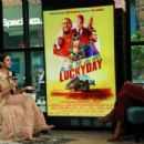 Nina Dobrev – Visits Build Studios to discuss 'Lucky Day' in New York City