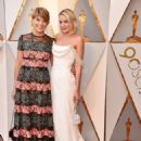 Margot Robbie and her mother Sarie Kessler – The 90th Academy Awards in Los Angeles