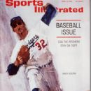 Sandy Koufax - Sports Illustrated Magazine Cover [United States] (13 April 1964)