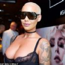 Amber Rose attends the Kat Von D Beauty Fragrance Launch Press Party #SAINTANDSINNER at Hollywood Roosevelt Hotel in Hollywood, California - June 20, 2017 - 454 x 282