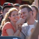 Candace Cameron Bure and John Brotherton