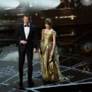 Neil Patrick Harris and Anna Kendrick At The 87th Annual Academy Awards - Show (2015)