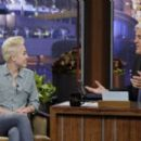 Miley Cyrus makes an appearance on The Tonight Show with Jay Leno on Thursday (January 30) in Burbank,Ca