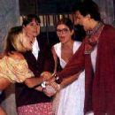 Letícia Spiller, Elizabeth Savalla, Cristiana Oliveira and Betty Lago in Quatro por Quatro (1994)