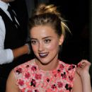 Amber Heard Mac and Vogue Celebrate Giambattista Valli In La