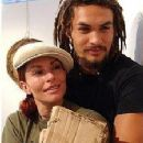 Simmone Mackinnon and Jason Momoa