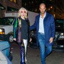 Lady Gaga – Seen in a Vintage Mercedes in NYC