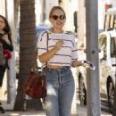 Tanya Burr – Leaving M Cafe in Beverly Hills - 454 x 681