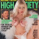 Savannah - High Society Magazine Cover [United States] (March 1993)