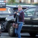 Emma Roberts – Wearing denim and looks stylish while out in Los Angeles