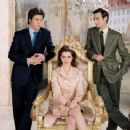 Chris Pine, Anne Hathaway and Callum Blue in The Princess Diaries 2: Royal Engagement (2004)
