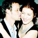 Kate Walsh and Justin Chambers