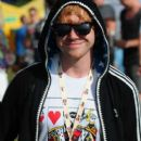 Rupert Grint attended the 2011 V Festival in Chelmsford, England this weekend