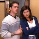 Tiffani Thiessen and Jason Priestley