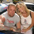 Janine Lindemulder and Jesse James