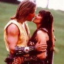 Lucy Lawless and Kevin Sorbo