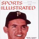 Frank Thomas - Sports Illustrated Magazine Cover [United States] (28 July 1958)