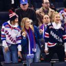 Bella and Gigi Hadid – Anaheim Ducks v New York Rangers ice hockey game in NYC
