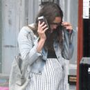 Pregnant Keira Knightley spotted as she steps out in London