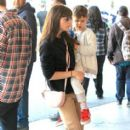 Selma Blair spotted taking her son to see the new movie 'Baby Boss' at the theater at The Grove in Los Angeles,  California March 30th, 2017 - 413 x 600