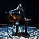 Musician Dave Grohl performs onstage during the 88th Annual Academy Awards at the Dolby Theatre on February 28, 2016 in Hollywood, California.