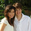 Christian Serratos and Devon Werkheiser