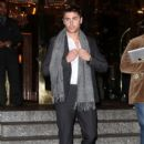 Zac Efron is spotted leaving a posh hotel in New York 12/07/2011