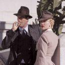 Scarlett Johansson and Aaron Eckhart