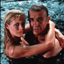 Kim Basinger and Sean Connery