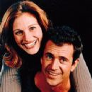 Julia Roberts and Mel Gibson