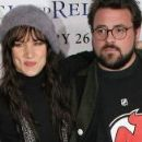 Juliette Lewis and Kevin Smith