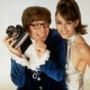 Mike Myers and Elizabeth Hurley