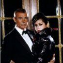 Sean Connery and Barbara Carrera