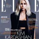 Kim Kardashian Elle France Magazine March 2015