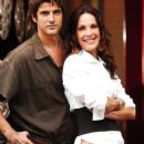 Reynaldo Gianecchini and Carolina Ferraz