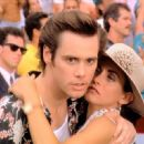 Jim Carrey and Courteney Arquette
