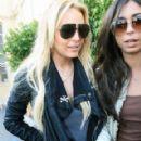 Courtenay Semel and Lindsay Lohan
