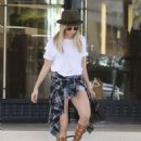 Ashley Tisdale: shopping at Barneys New York in Beverly Hills