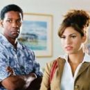 Eva Mendes and Denzel Washington