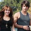 Miley Cyrus and Justin Gaston