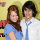 Emma Stone and Teddy Geiger