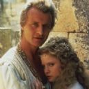 Rutger Hauer and Jennifer Leigh
