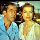 Jimmy Stewart and Grace Kelly